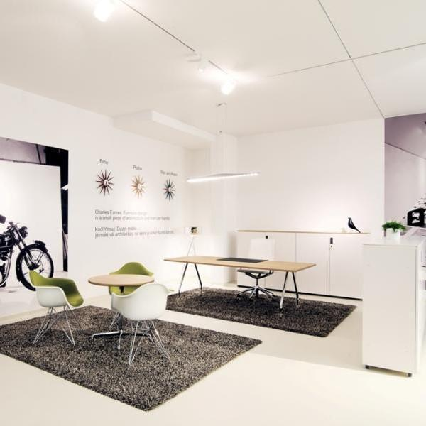 Vkusný kancelársky interiér