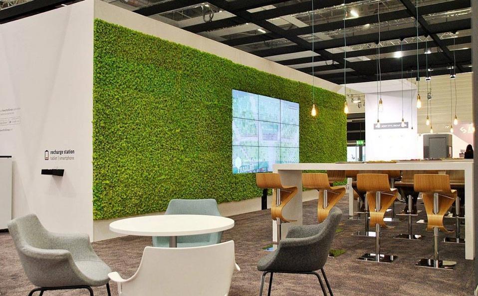 Machové steny a obrazy - kancelárske a pracovné miestnosti