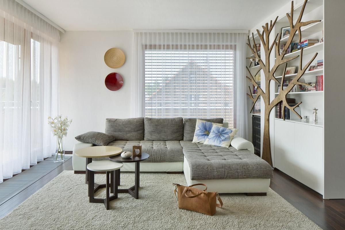 Obývací pokoj - Byt pod Viaduktem