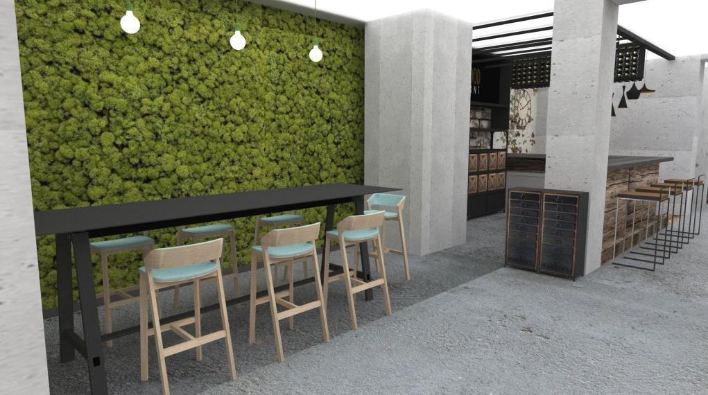 Machová stena - Reštaurácia a kaviareň v prírodnom štýle