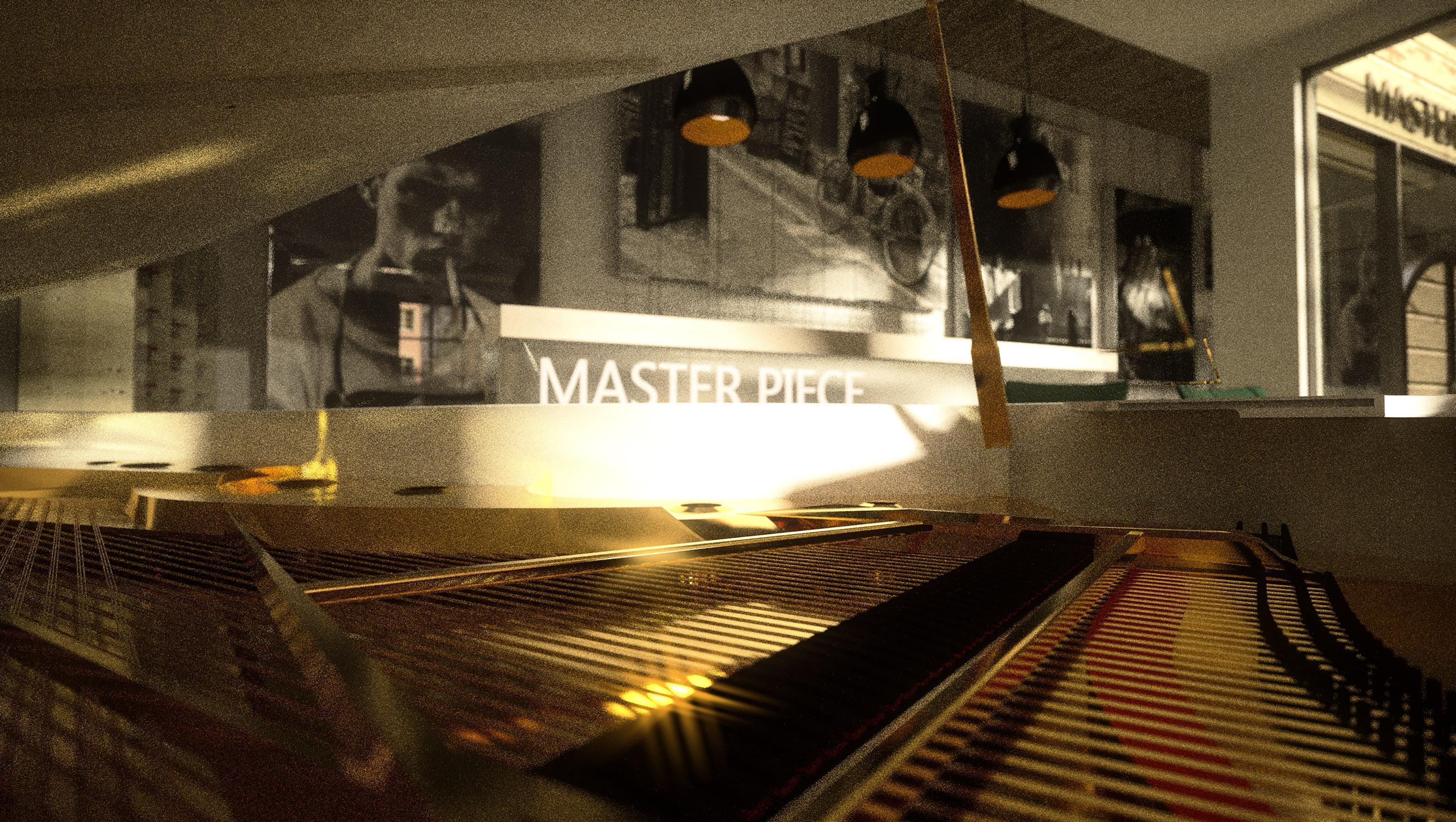 Piano - detail