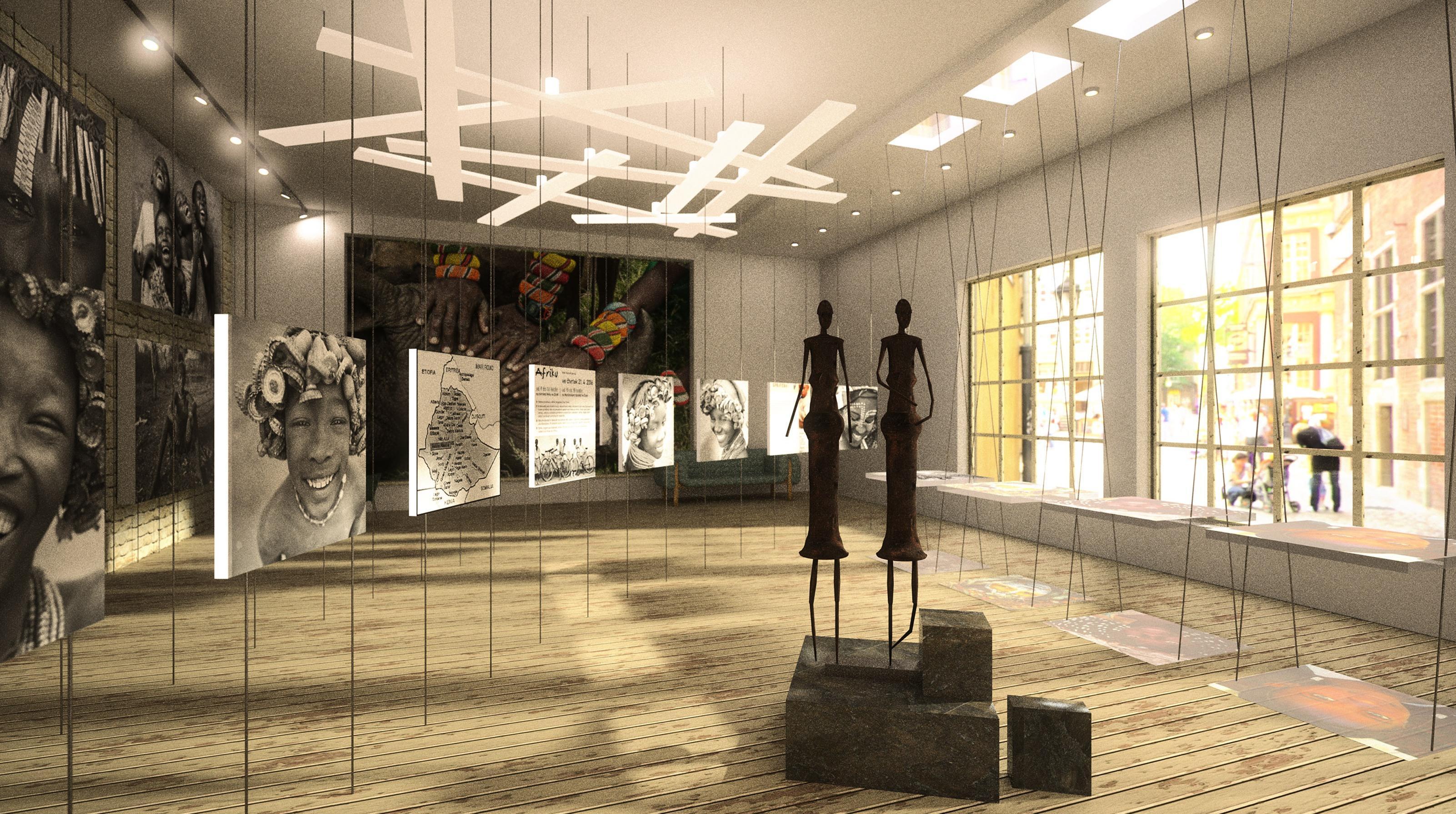 Galéria s kaviarňou
