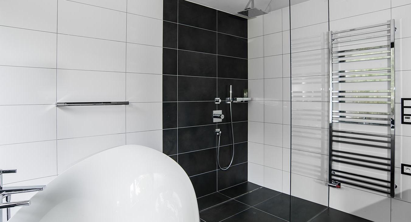 Koupelna - Interiér rodinného domu, Praha Západ