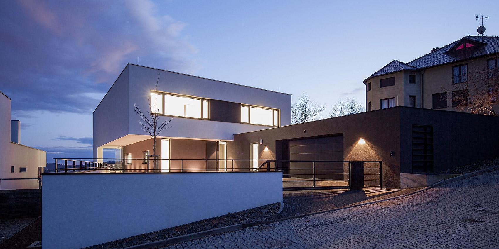 Zasazení domu - Vila s výhledem