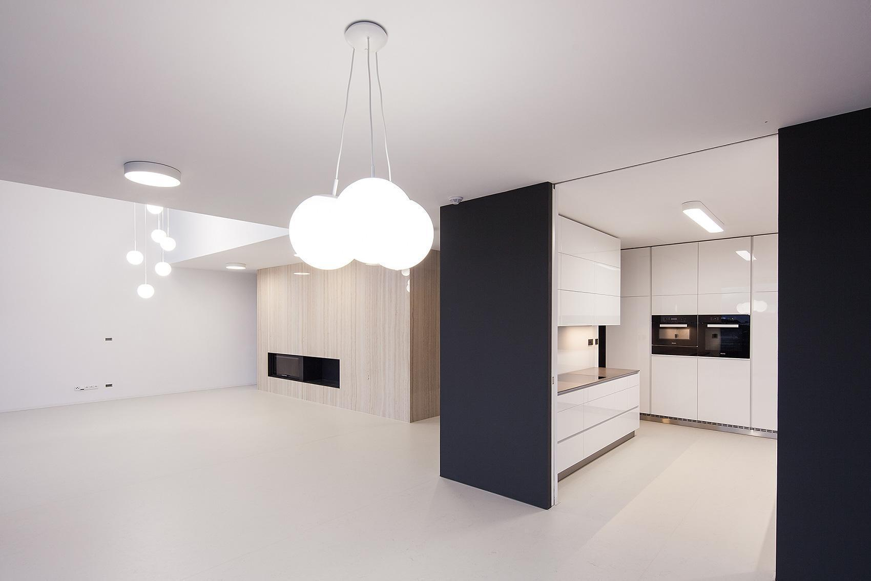 Prostorný interier - Vila s výhledem