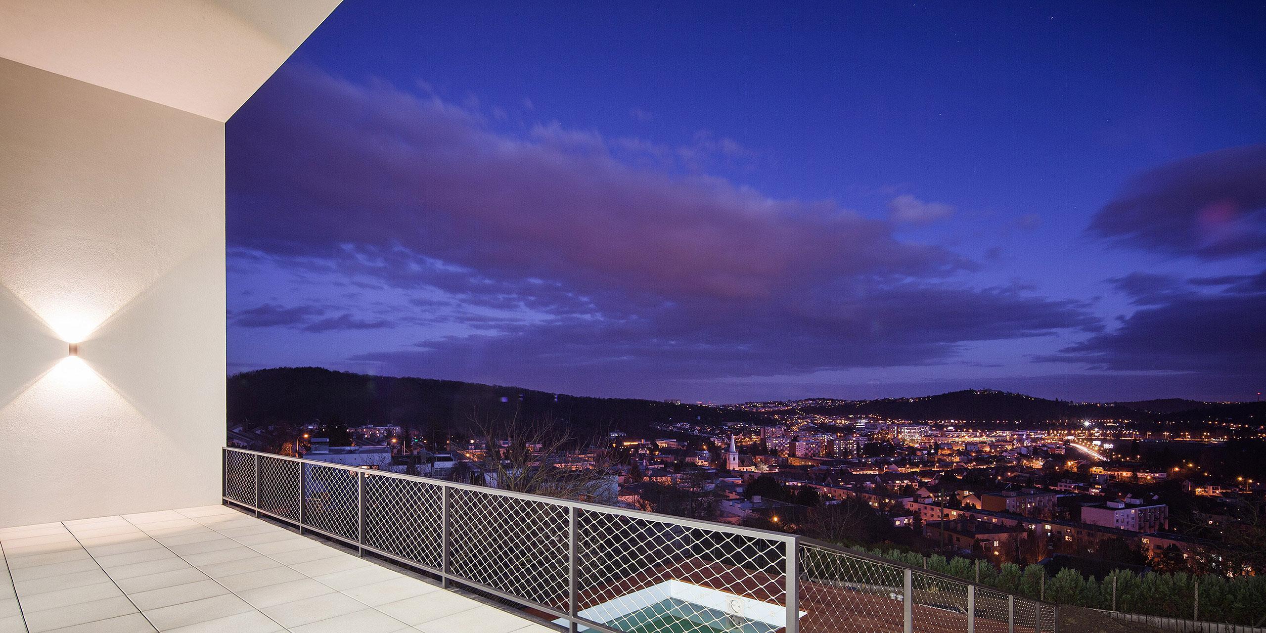 Výhled na okolí - Vila s výhledem