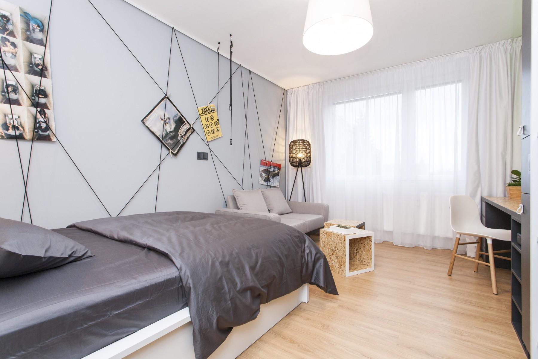 Izba s designovým nábytkom