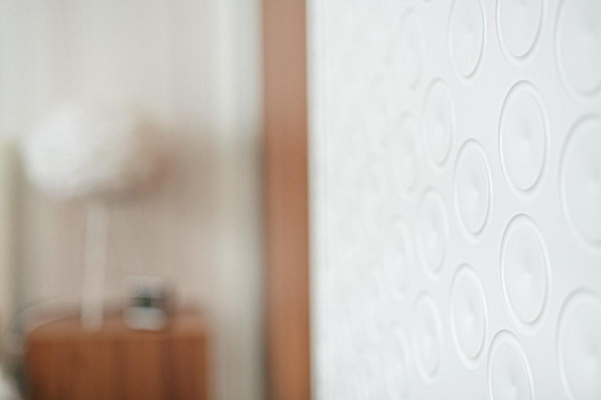 Detail na stěnu