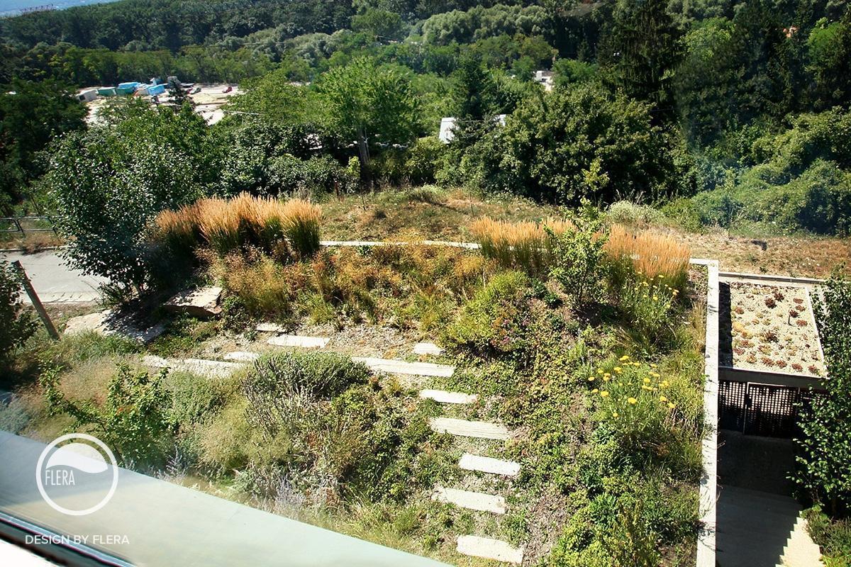 Pohľad na záhradu
