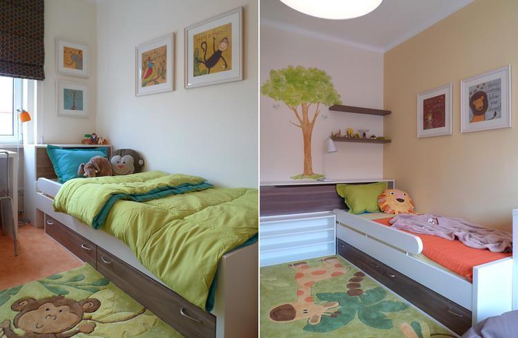 Detská izba pre dvoch nezbedníkov