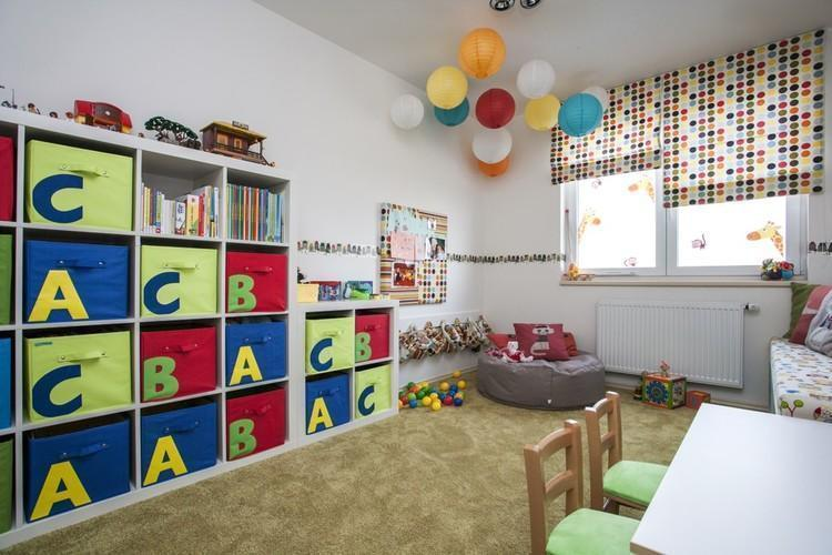 Farebná detská izba