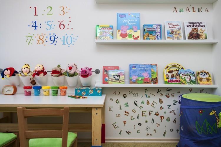 Detská izba s hravými doplnkami