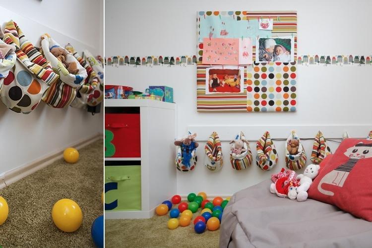 Hrací kútik v detskej izbe