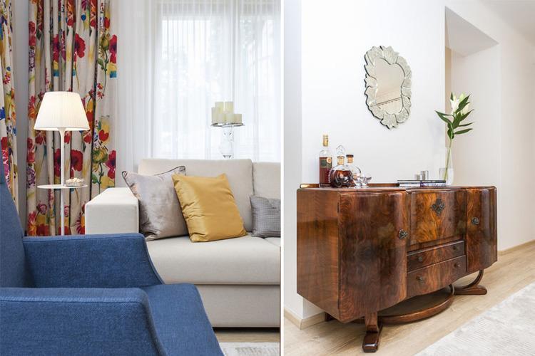 Detaily z obývačky