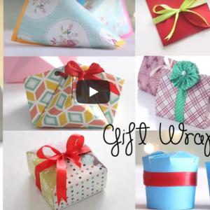 Ako vyrobiť originálnu krabičku na darčeky