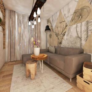 Návrh bytu v prírodnom štýle - Bratislava, Petržalka