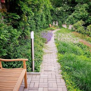 Záhrada s voňavým svahom