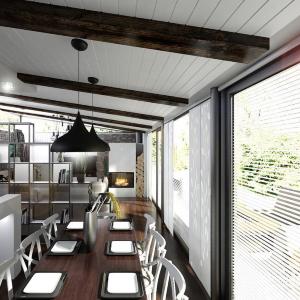 Prepojenie kuchyne s obývačkou, dom Bratislava