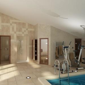 Wellness, relaxačné a fitness miestnosti