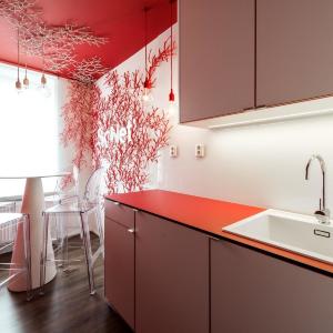 Červená kuchyňa SoNet