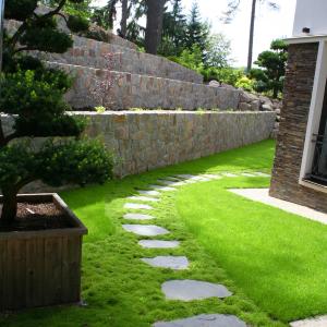 Privátna záhrada v Jevanoch