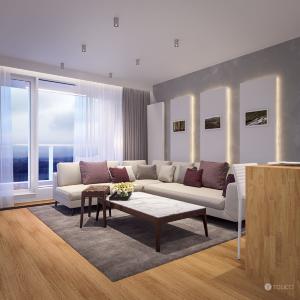 Interiér bytu v štandarde v Bratislave