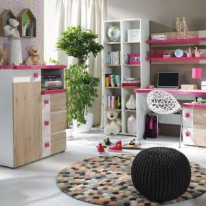 Bezpečné zázemie pre deti vytvára voľný priestor, kvalitné materiály aj ergonómia nábytku