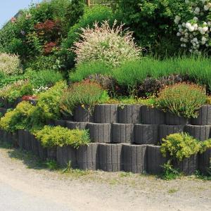 Ako spevniť zosunutý záhradný svah