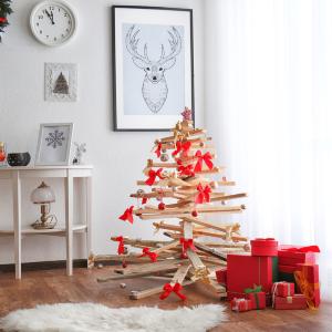 Alternatívny vianočný stromček ako hit tohtoročných Vianoc. Šetrí prírodu a navyše i skvele vyzerá