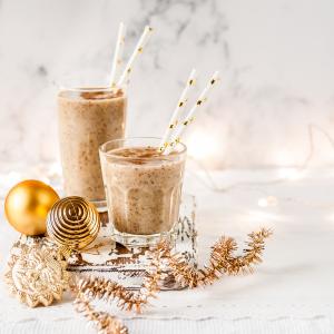 Chutí vynikajúco a nabije vás energiou. Pripravte si toto vynikajúce vianočné smoothie