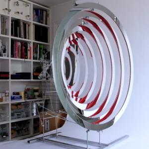 Dizajnový prvok Red Ripples