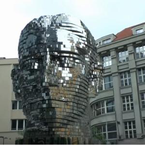 Pohyblivá hlava Franze Kafky