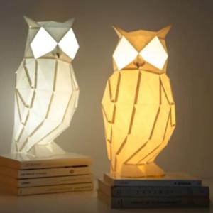 Tvoríme origami - papierové lampy inšpirované zvieratami