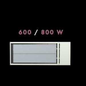 Vysokoteplotné sálavé panely ECOSUN S+ /SHORT /TH /CH