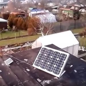 CHATA NA OBNOVITELNÉ ZDROJE- fotovoltaika+ větrná elektrárna