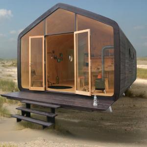 Wikkelhouse - domček z lepenky