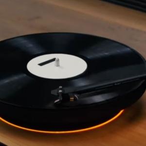 Prvý gramofón s levitujúcou točňou
