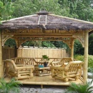 Dizajn bambusových domov