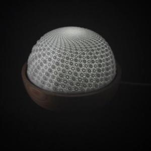 3D-tlačená kinetická plastika Flux