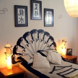 Viac ako 200 nápadov na originálnu stenu za posteľou