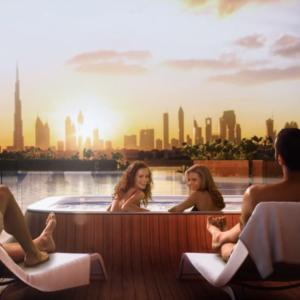 Vila Plávajúci Morský Koník v Dubaji
