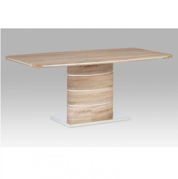Jedálenský stôl, MDF, dub sonoma, AMAR