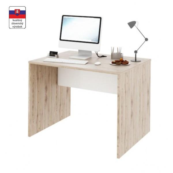 PC stôl, san remo/biela, RIOMA TYP 12