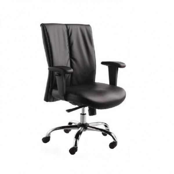 Kancelárske kreslo, čierna, GAUTIER