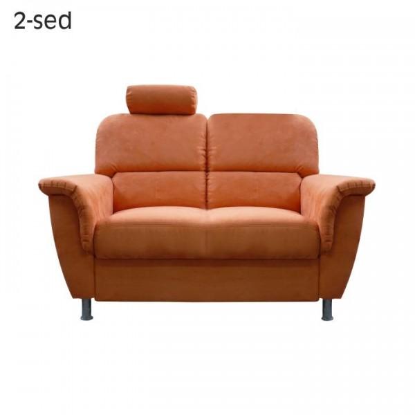 Kreslo, oranžové, SAN DIEGO