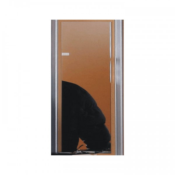 TEMPO KONDELA Zrkadlo, buk/strieborná, LISSI TYP 05