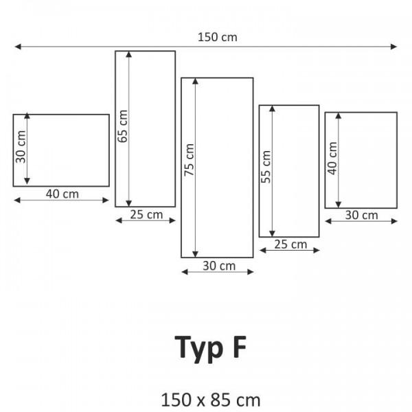 TEMPO KONDELA Obraz, s motívom, 150x85 TYP F, F001852F