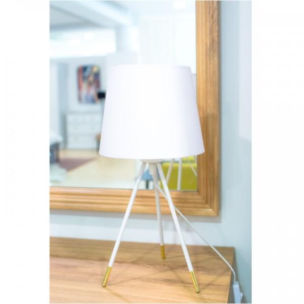 Stolná lampa, biela, JADE Typ 5 8008-44B