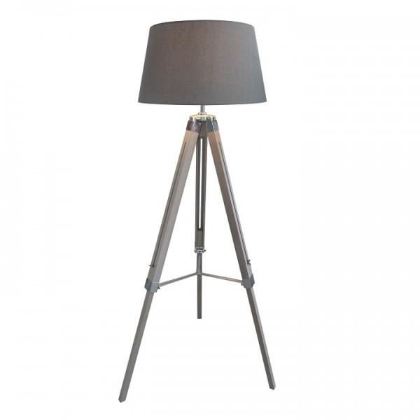 Stojacia lampa, sivá, JADE Typ 11 8008-39