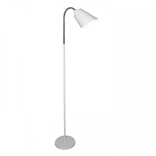 Stojacia lampa, biela, JADE Typ 1 8200